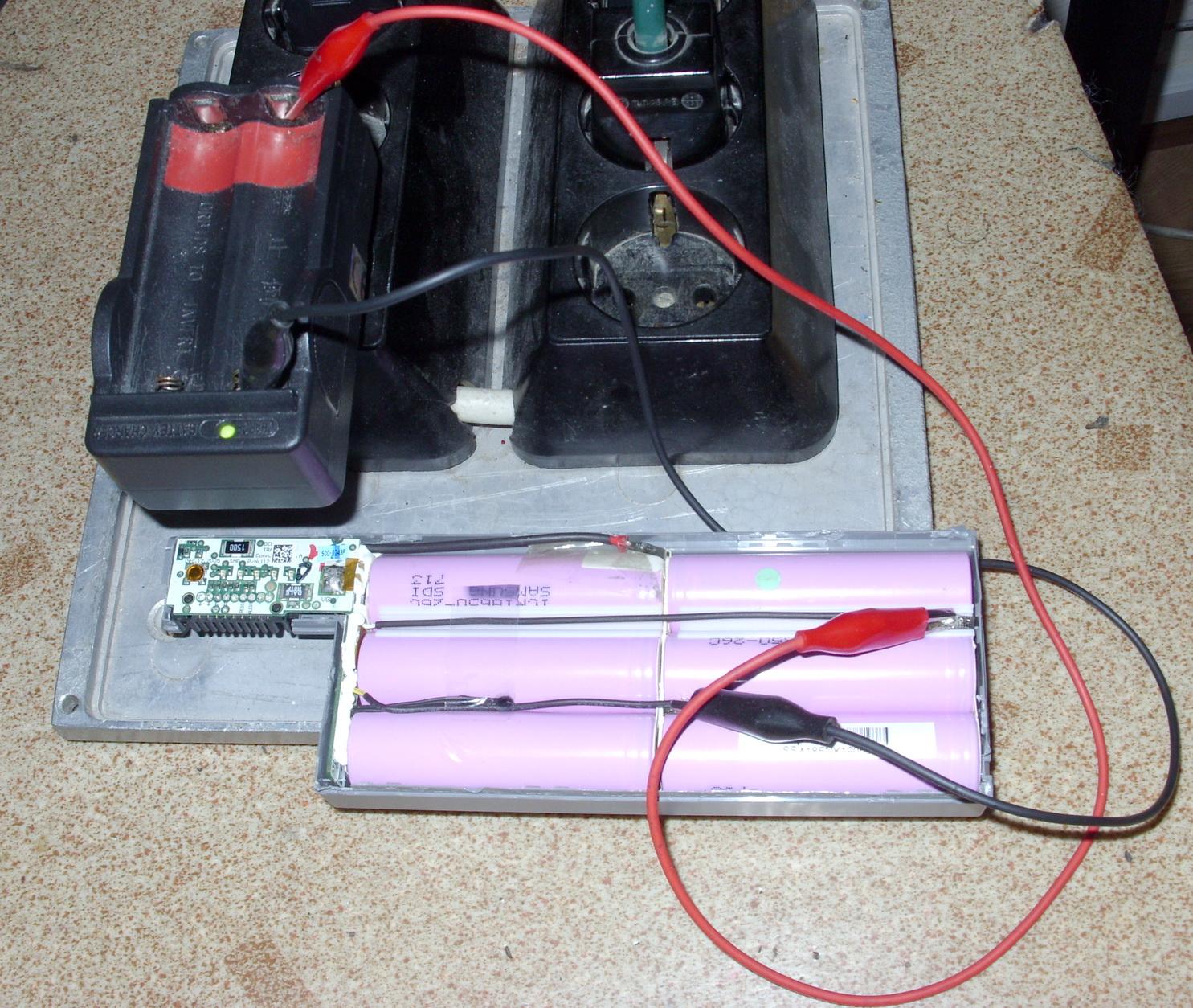 Ръчно зареждане на проблемни акумулаторни секции в батерия на лаптоп