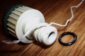 Изкуствено удебеляване на гумения уплътнител