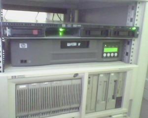 Как на HP ProLiant са му разменили индикациите на дисковете